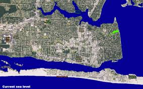 Fort Walton Beach Florida Map by Rising Seas Climate Change Brings New Risks For Homeowners