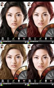 see yourself with different color hair braziliankeratinnyc1 50 excellent iphone apps for photography