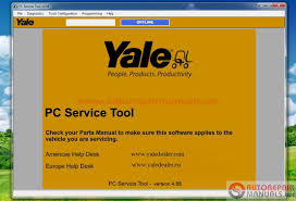 yale pc service tool v4 88 keys auto repair manual forum