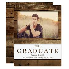 graduation announcments boys graduation invitations announcements zazzle