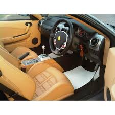 f430 interior f430 spider black rhd