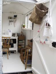 shed makeovers before after a clever shed to craft room makeover curbly