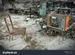 tv in middle of room chair old tv middle no stock photo 411109366 shutterstock