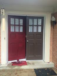 paint your front door for a punch of color thrift diving blog