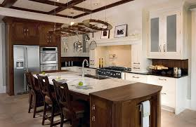 Espresso Kitchen Cabinets by Dark Brown Espresso Kitchen Cabinets With White Island Mixed