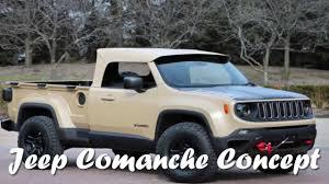 1988 jeep comanche custom el nuevo jeep comanche concept debuta con carrocería pick up youtube
