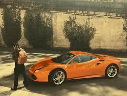 pink chrome ferrari travis scott u0027s burnt orange ferrari 488 celebrity cars blog