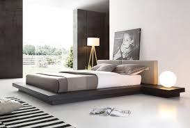 Gray Platform Bed Opal Modern Wenge U0026 Grey Platform Bed