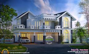 kerala home design house plans western style house plans in kerala home design 2017