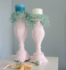 shabby chic beach decor beach decor candlesticks nautical cottage shabby chic candle