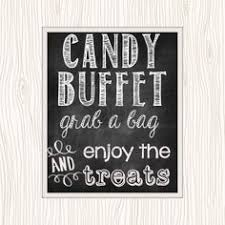 Wedding Buffet Signs by Black And White Candy Buffet Google Search Candy Buffet