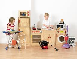piece solid hardwood kitchen pretend play kitchen imagintive play