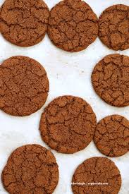 easy thanksgiving cookies 1 bowl giant molasses cookies vegan richa