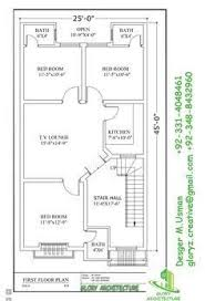 2bhk floor plans image result for 2 bhk second floor plans of 25 45 house plans