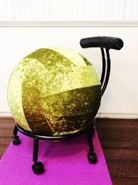 Bounce Ball Chair Gaiam Balance Ball Chair Base Only Home Chair Decoration