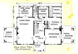 Old House Plans Gordon Van Tine Sears Modern Homes
