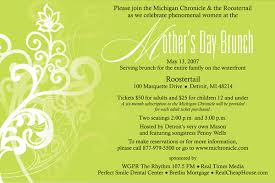 s day brunch invitation michigan chronicle presents a s day brunch may 13 2007