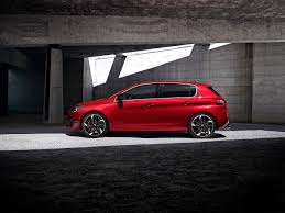 peugeot 308 2015 pictures peugeot 308 2015 gti red auto side