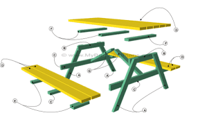 Folding Picnic Table Plans Pdf by Picnic Table Bench Plans Folding Picnic Table Plans Picnic Table