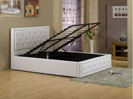Ottoman Storage Bed Frame by Cash And Carry Beds Alice Ottoman Storage Pu Bed Frame