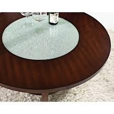 coffee table steve silver denise oval light oak wood coffee table