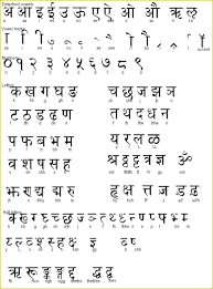 sanskrit hindi alphabet bharat darshan pinterest sanskrit