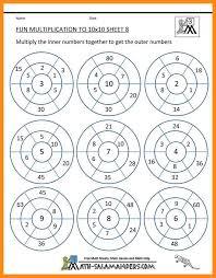 12 fun multiplication worksheets lvn resume