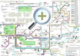printable map key tourist attractions in london map