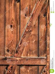 Rustic Barn Door Hinges by Antique Rustic Pine Wood Barn Door Detail Stock Photography