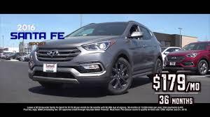 hyundai santa fe best deals 2016 hyundai santa fe for 179 mo lease safford hyundai