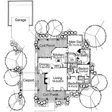 House Plans With Carport Wharton Ranch House Plans Country House Plans