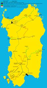 Double Map Railways Map Of Sardinia U2022 Mapsof Net