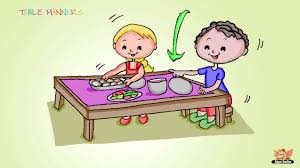 table manners family education series learn table manners youtube