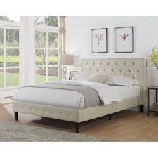 Instant Bed Instant Home Cloe Upholstered Platform Bed U0026 Reviews Wayfair
