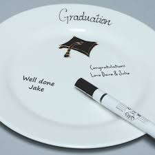 signing plate graduation celebration signing plate the gift experience