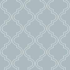Herringbone Line Wallpaper Beige Peel by Wall Pops Nu1826 Quatrefoil Peel And Stick Wallpaper Slate Blue