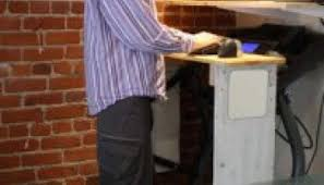 Standing Treadmill Desk by How To Build A Treadmill Desk Standing Desk Reviews