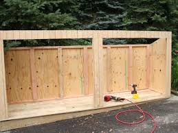 Building A Backyard Shed by Build A Trash Shed Hgtv