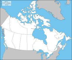 map of canada canada free map free blank map free outline map free base map