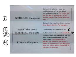transitions from quote to explanation showme quotes