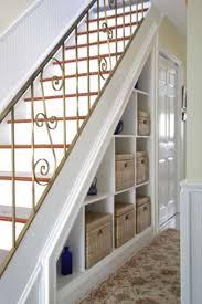 under stair storage wicker baskets great under stair storage