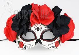 bauer women u0027s day of the dead dia de los muertos mask black and