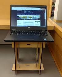 new in the library mobile standing desks library u0026 information