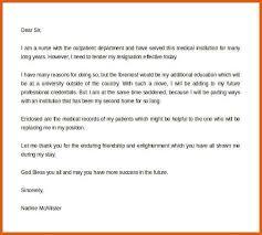 formal resignation letter apa examples