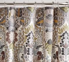 Pottery Barn Waffle Weave Shower Curtain Pottery Barn Shower Curtains Curtain Menzilperde Net