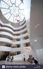 usa new york city guggenheim museum by frank lloyd wright