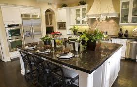 Large Kitchen Islands With Seating Granite Top Large Kitchen Island With Seating And Storage
