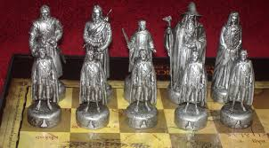 fellowship of the ring chess set a component review chess