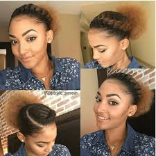 how to pack natural hair printrest super cute flat twist puff ig 93gabrielle gyamerah