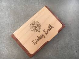 personalized business card holder realtor gift corporate business